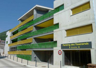 Parking des TISSERANDS  [38, Voiron]